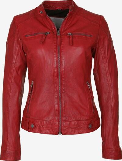 7ELEVEN Lederjacke 'Marian' in rot, Produktansicht