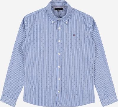 TOMMY HILFIGER Hemd in blau / navy / rot / weiß, Produktansicht