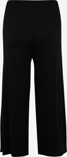 Urban Classics Curvy Kalhoty 'Ladies Modal Culotte' - černá: Pohled zezadu