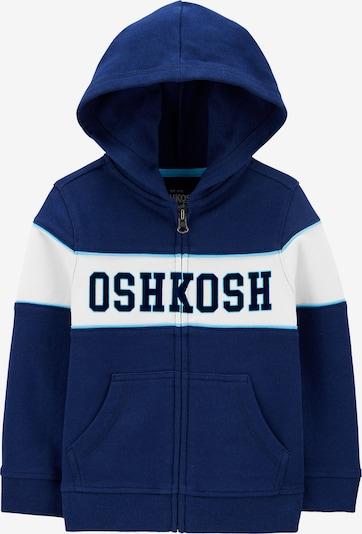 OshKosh Sweatjacke mit Kapuze in blau, Produktansicht