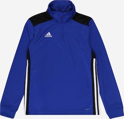 ADIDAS PERFORMANCE Shirt 'Regista 18' in blau / schwarz / weiß: Frontalansicht