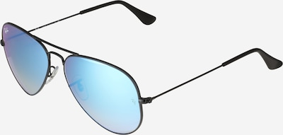 Ray-Ban Saulesbrilles 'Aviator' zils / melns, Preces skats
