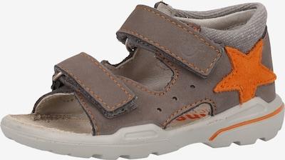 Pepino Sandalen in schlammfarben, Produktansicht