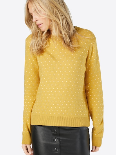ABOUT YOU Pullover 'Leena Jumper' in gelb / curry, Modelansicht