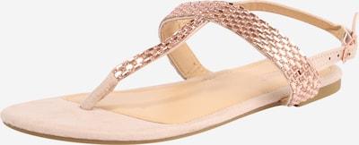 Hailys Sandale 'Isa' in gold / rosé, Produktansicht
