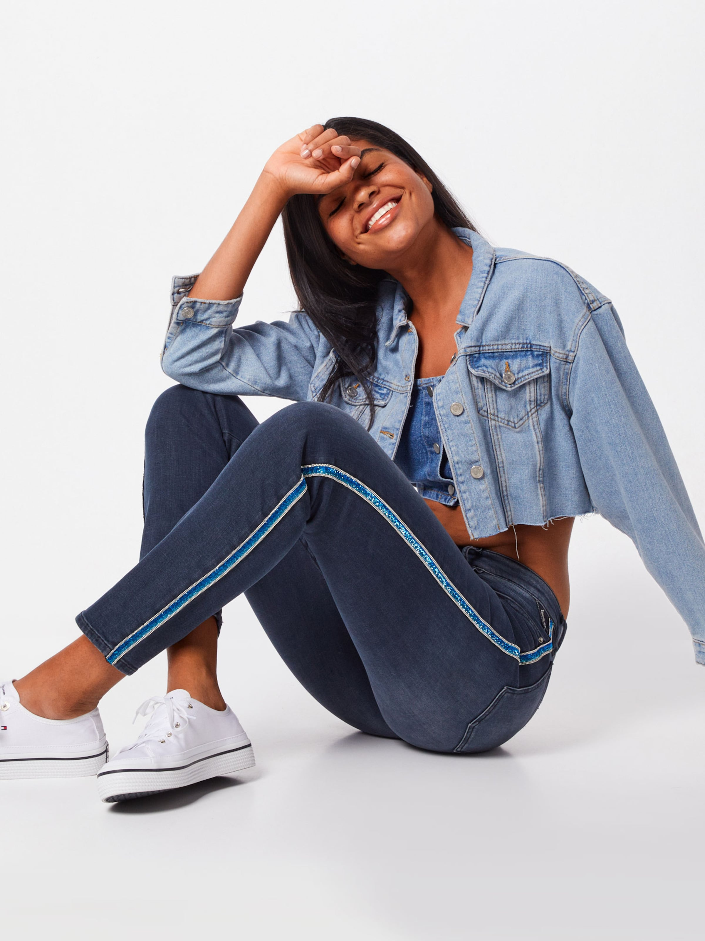 »vivy« In Denim Slim fit Blue Replay jeans SUqMpzV