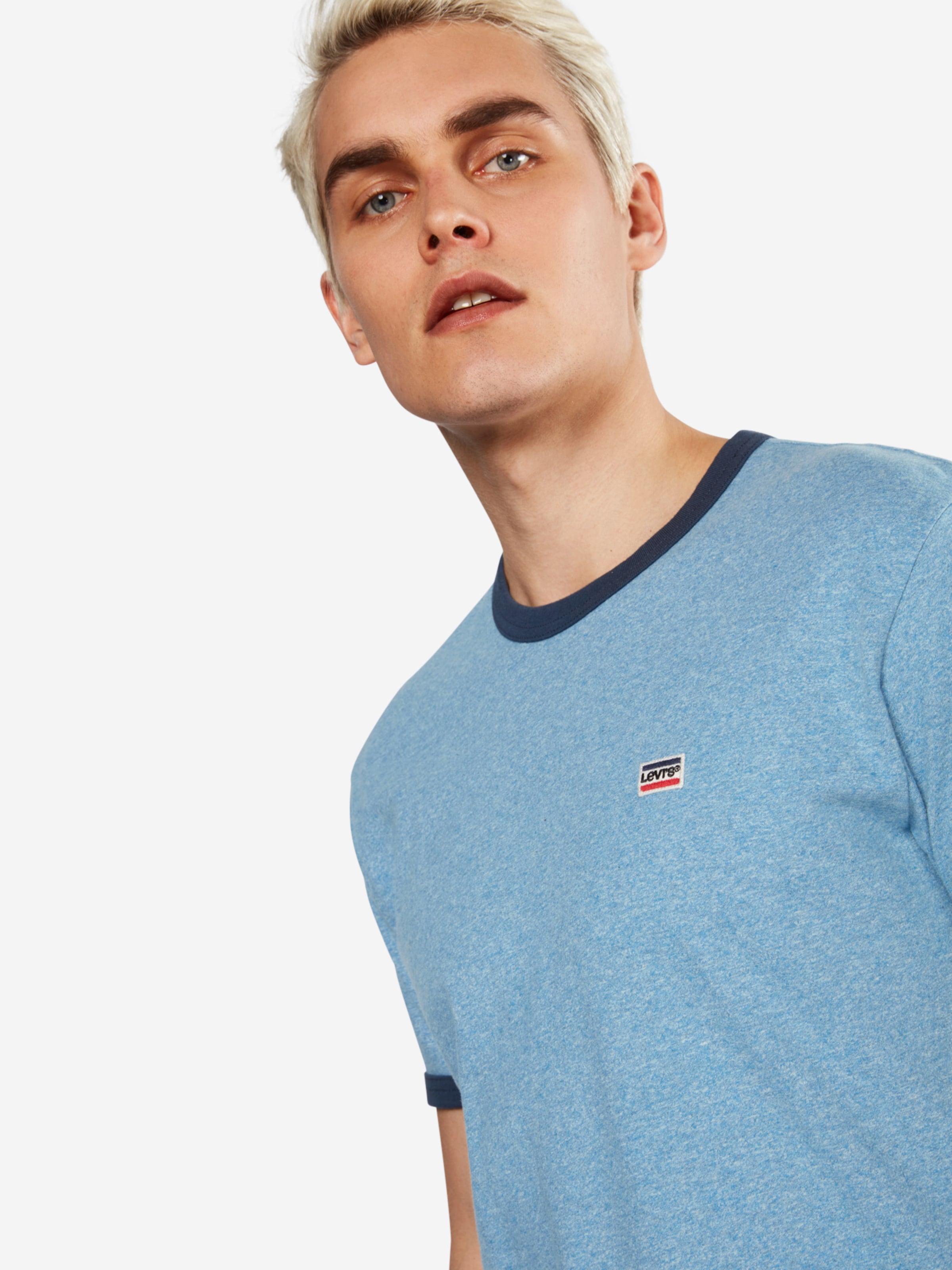 LEVI'S T-Shirt 'SS BERNAL RINGER' Fälschung Günstiger Preis ACWjZlZa