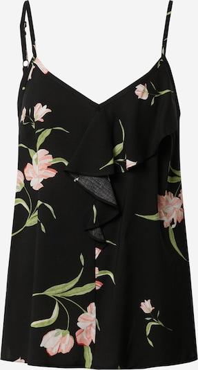 Dorothy Perkins Top 'FLORAL FRILL CAMI' in schwarz, Produktansicht