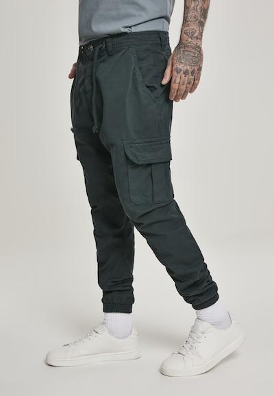 Urban Classics Pantalon cargo en gris foncé, Vue avec modèle