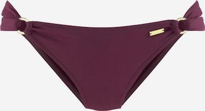 LASCANA Bikini-Hose 'Kati' in bordeaux: Frontalansicht