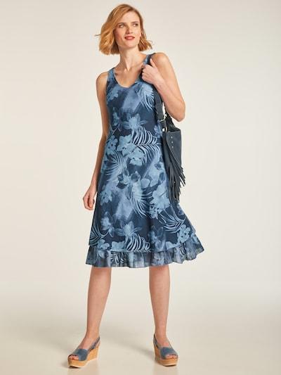 heine Sukienka w kolorze podpalany niebieski / ciemny niebieskim: Widok z przodu
