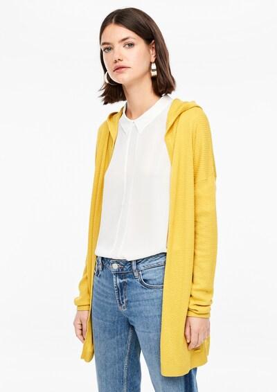 Q/S designed by Jacke in gelb, Modelansicht