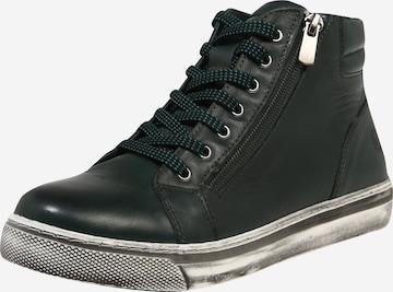 COSMOS COMFORT High-Top Sneakers in Green