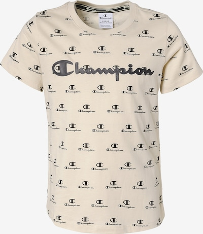 Champion Authentic Athletic Apparel T-Shirt in champagner / schwarz, Produktansicht