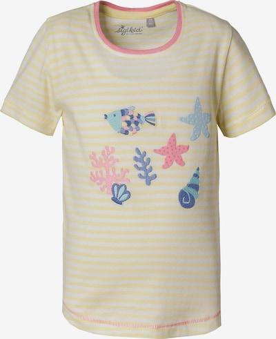 SIGIKID T-Shirt in royalblau / hellblau / gelb / rosa / weiß, Produktansicht