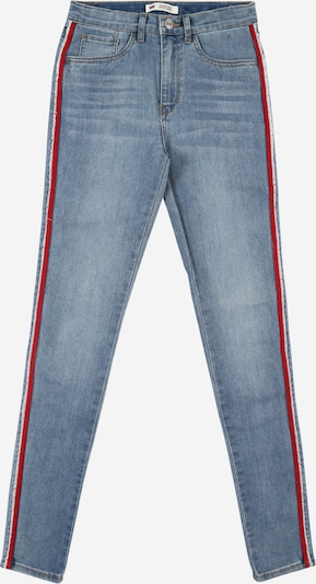 LEVI'S Jeans in blue denim / rot, Produktansicht