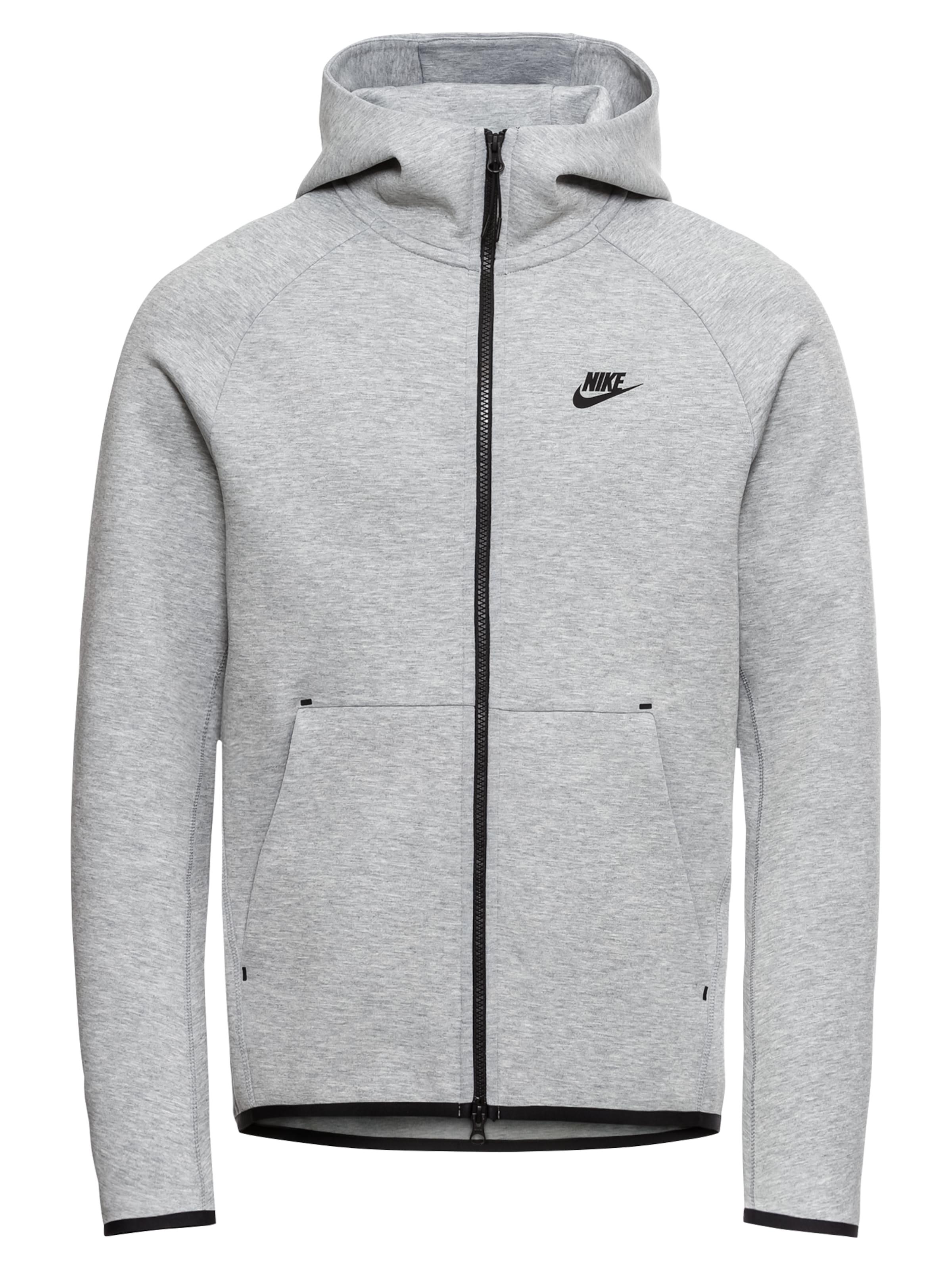 Flc Veste 'm Foncé Fz' De Hoodie Tch Gris Nsw Nike En Survêtement Sportswear dsthrCQ