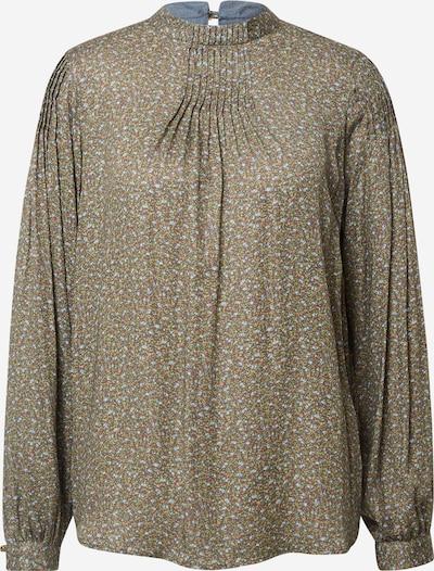 MOS MOSH Bluzka 'Fina' w kolorze jasnoniebieski / brązowy / zielonym, Podgląd produktu