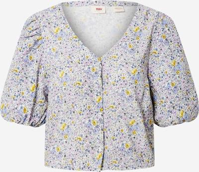 LEVI'S Blouse 'Holly' in de kleur Lila / Gemengde kleuren, Productweergave