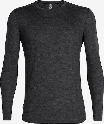 Icebreaker Shirt 'Sphere' in schwarzmeliert, Produktansicht