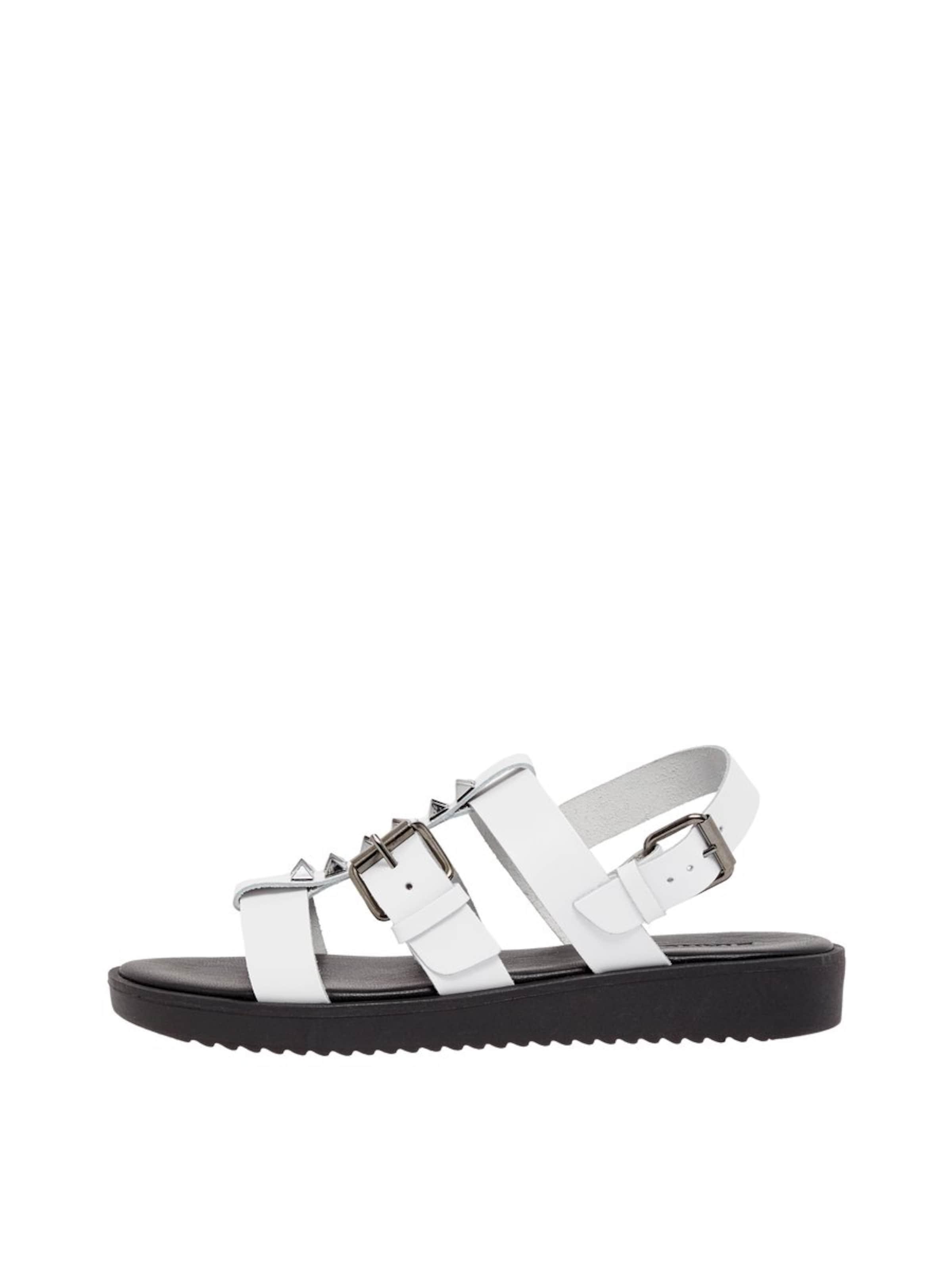 Sandale Bianco Bianco In Sandale SilberWeiß In SilberWeiß In Sandale SilberWeiß Bianco j4ARc35Lq