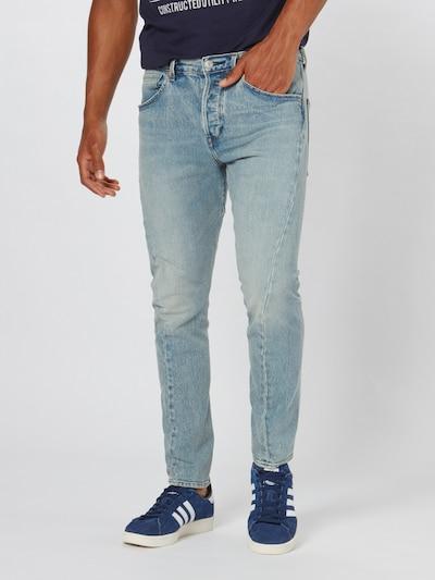 LEVI'S Jeans 'LEJ512SLIMTAPER' in de kleur Blauw denim, Modelweergave