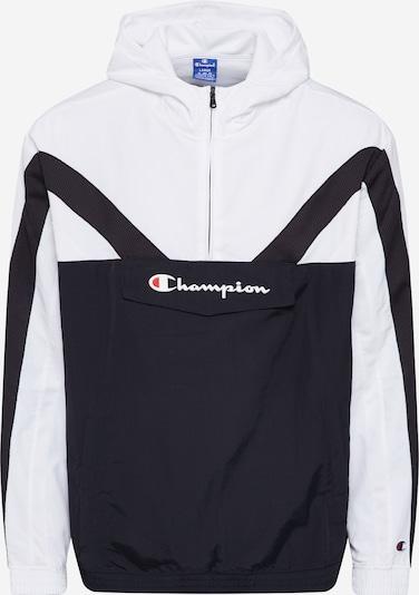 Champion Authentic Athletic Apparel Übergangsjacke in schwarz / weiß, Produktansicht