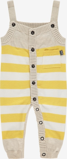IMPS&ELFS Strampler 'Jamestown' in beige / gelb / weiß, Produktansicht
