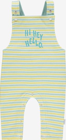 Noppies Jumpsuit 'Philadelphia' in rauchblau / zitronengelb / weiß, Produktansicht