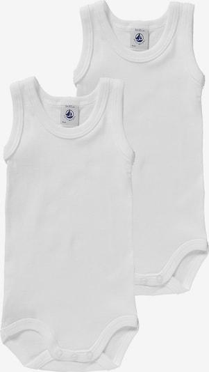 PETIT BATEAU Bodies ohne Arm, Doppelpack in weiß, Produktansicht