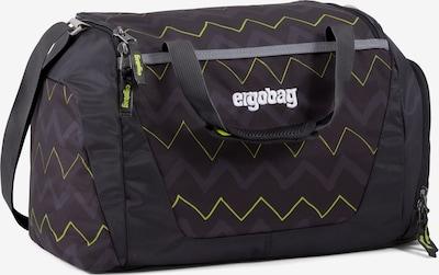 ergobag Tasche in neongrün / violettblau / schwarz, Produktansicht