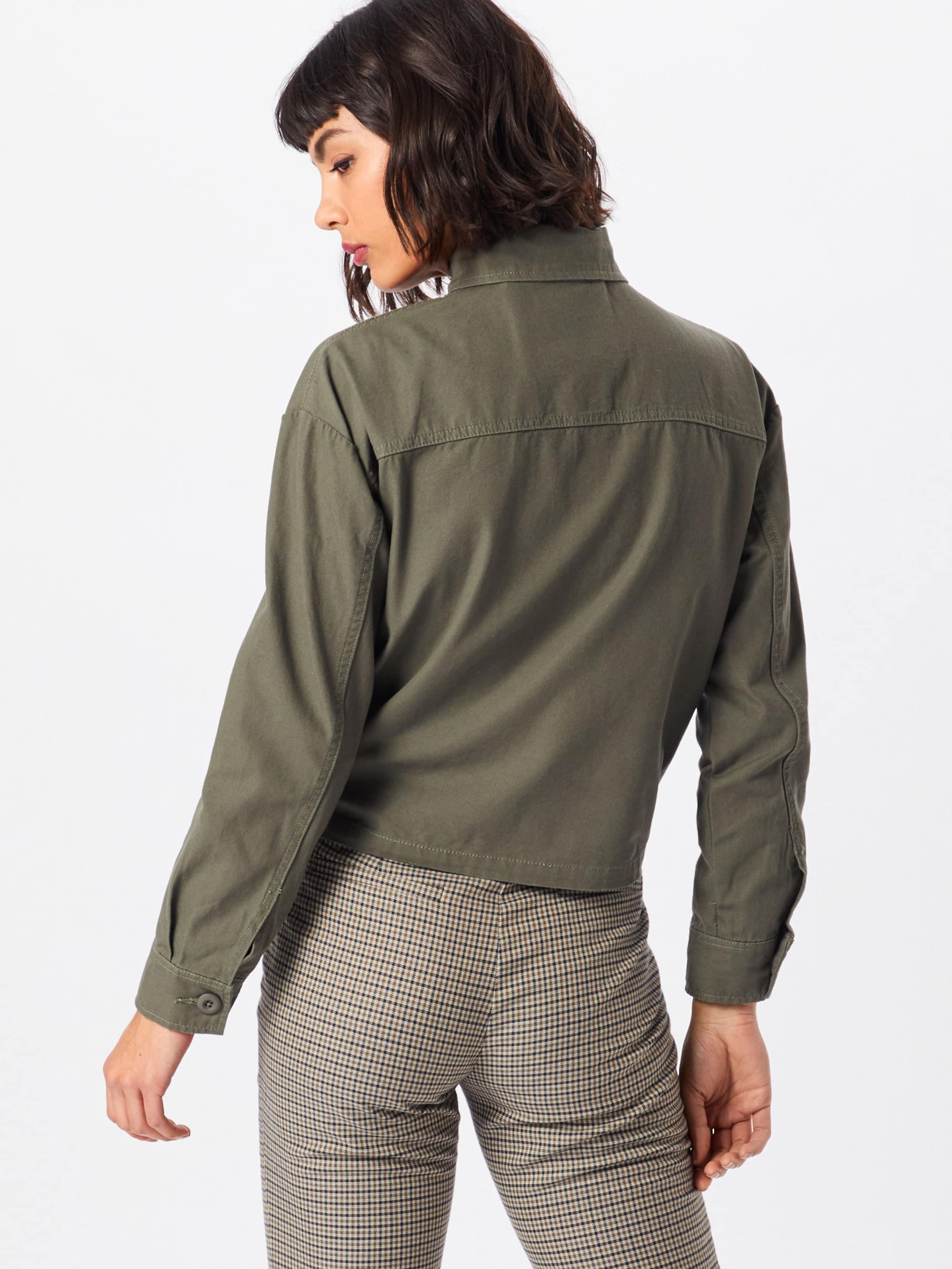 Khaki Look 'bonnie Utility Shacket' In Jacke New Cropped hQdBtsCxro