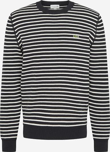 LACOSTE Pulover | mornarska / bela barva, Prikaz izdelka