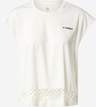 ADIDAS PERFORMANCE T-Shirt 'Terrex Agravic' in schwarz / weiß, Produktansicht