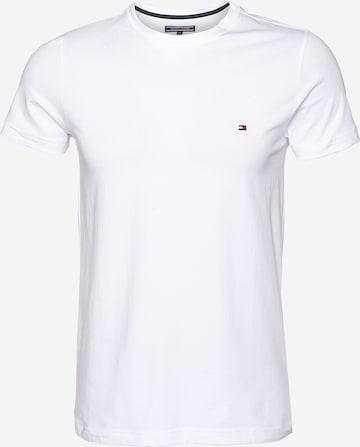 TOMMY HILFIGER T-Shirt in Weiß