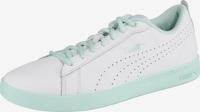 PUMA Sneaker 'Smash' in mint / weiß: Frontalansicht
