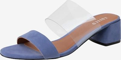 EDITED Sandale 'Kaori' in blau / hellblau, Produktansicht