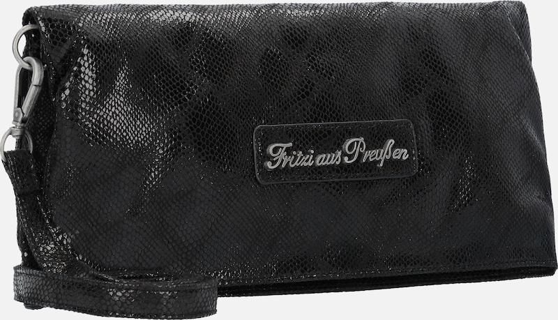 Fritzi From Prussia Ronja Clas Snake Clutch Shoulder Bag 29 Cm