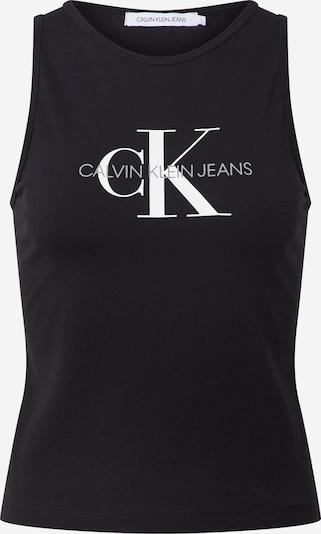Calvin Klein Jeans Top 'MONOGRAM' | črna barva, Prikaz izdelka