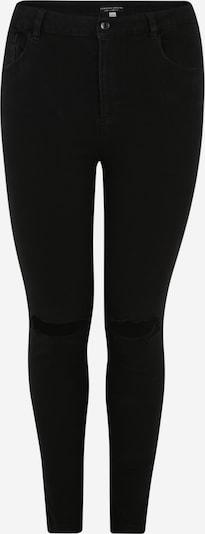 Dorothy Perkins Curve Jean 'Alex' en noir: Vue de face