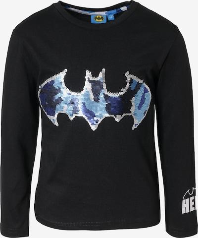 Batman Langarmshirt in schwarz / silber, Produktansicht