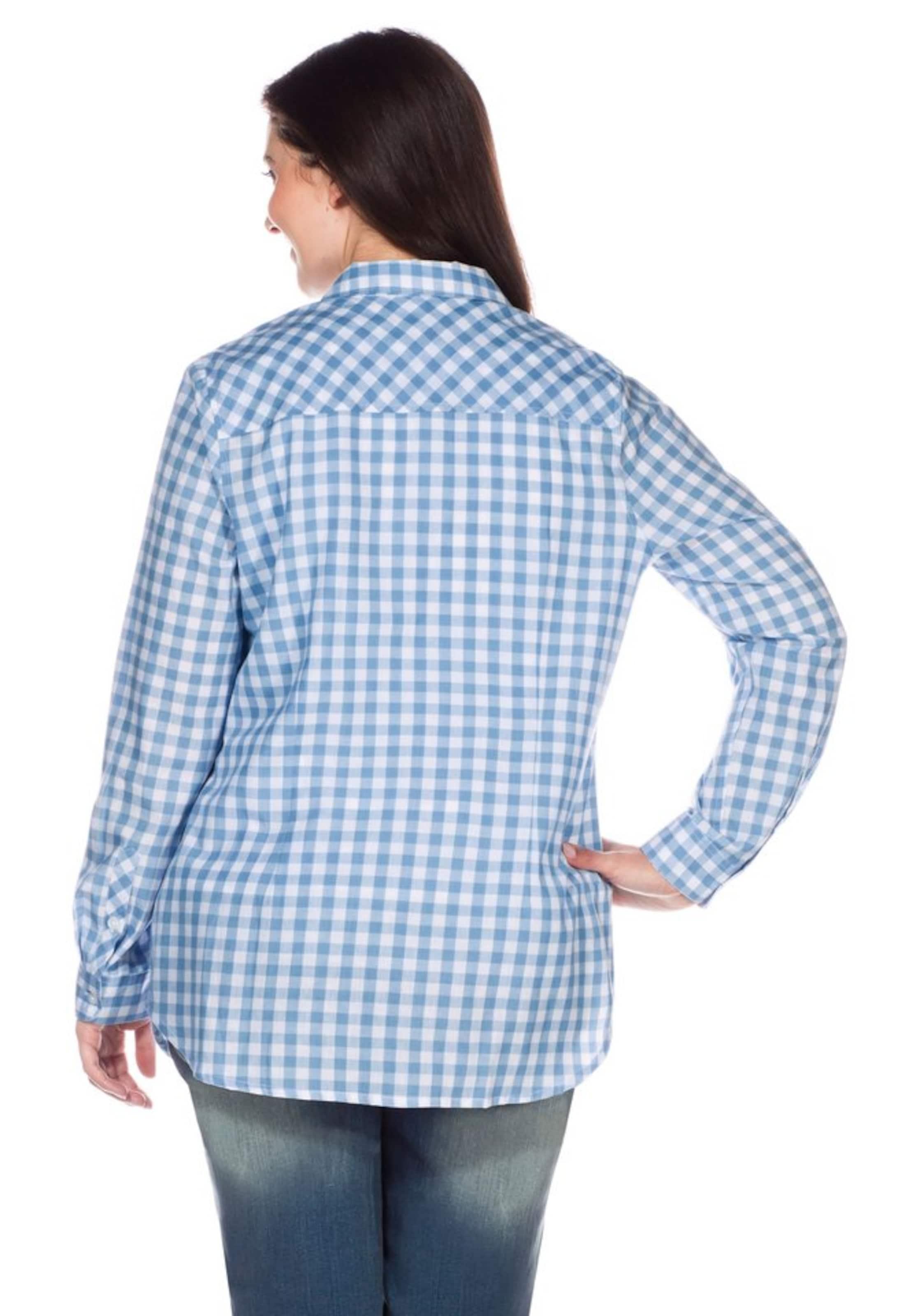 sheego casual Hemdbluse Outlet Günstigen Preisen Viele Arten Lieferung Frei Haus Mit Kreditkarte Zu Verkaufen DkS9b
