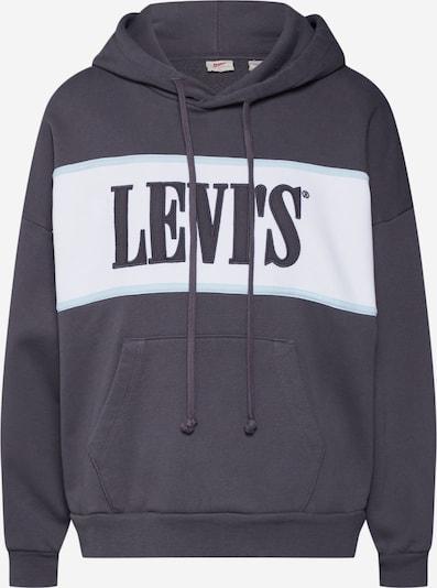 LEVI'S Sweatshirt 'CAMERON HOODIE' in navy / weiß, Produktansicht