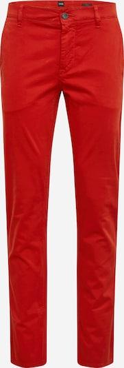 BOSS Chino 'Schino' in rot, Produktansicht