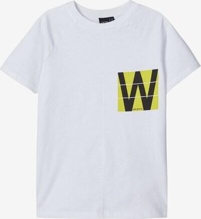 NAME IT Print T-Shirt in weiß, Produktansicht
