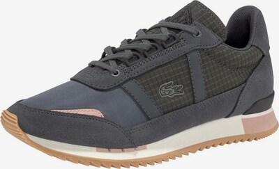 LACOSTE Sneaker 'Partner Retro' in anthrazit / tanne / rosa, Produktansicht