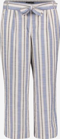 Betty Barclay Sommerhose mit Bundfalten in blau / weiß, Produktansicht