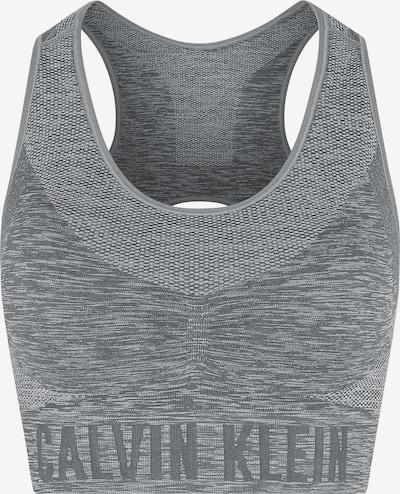 Calvin Klein Performance Sport-BH in graumeliert, Produktansicht