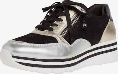 Tamaris Pure Relax Sneaker in gold / schwarz / silber, Produktansicht