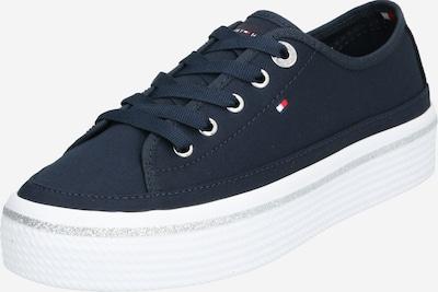 TOMMY HILFIGER Sneaker in dunkelblau / weiß, Produktansicht